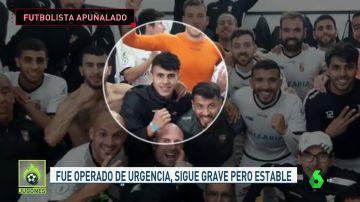 Un jugador del Ceuta de 21 años, en estado crítico tras ser apuñalado