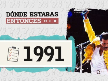 ¿Cuánto sabes del año 1991? Demuéstralo en este test