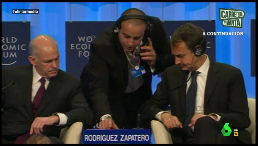 Zapatero en El Foro de Davos