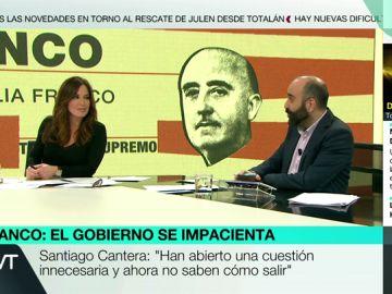 Mamen Mendizábal y José María Rivero en Más Vale Tarde