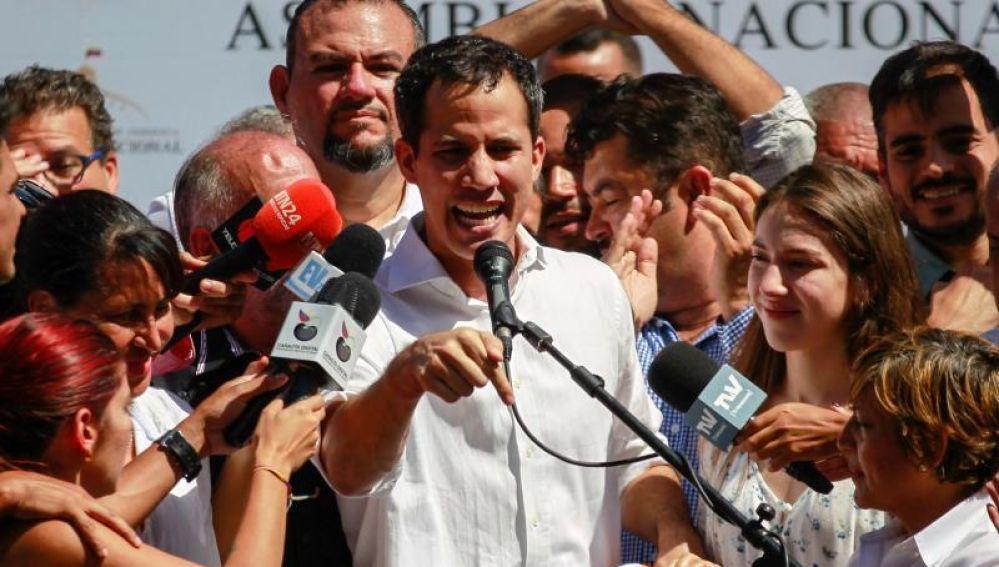 El opositor de Venezuela, Juan Guaidó.