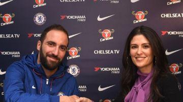 Higuaín llega al Chelsea
