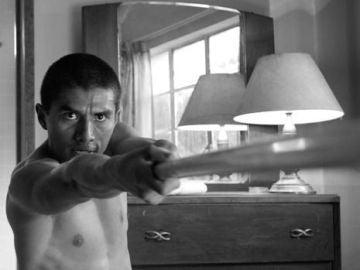 Jorge Antonio Guerrero en la película 'Roma'.