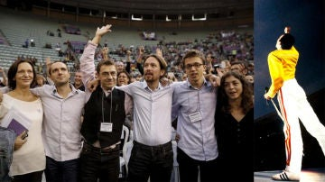 Comparando a Podemos con el concierto de Queen en Wembley