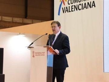 Imagen de archivo del president de la Generalitat, Ximo Puig