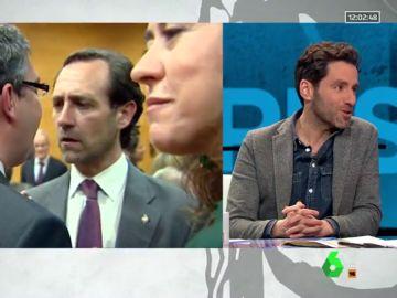 Borja Sémper, portavoz del PP en el Parlamento Vasco