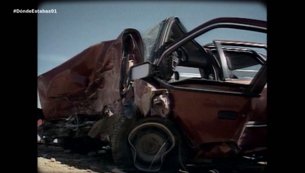 Casi 7.000 muertes en carretera: 1991, el año en el que los accidentes de tráfico tiñeron España de negro