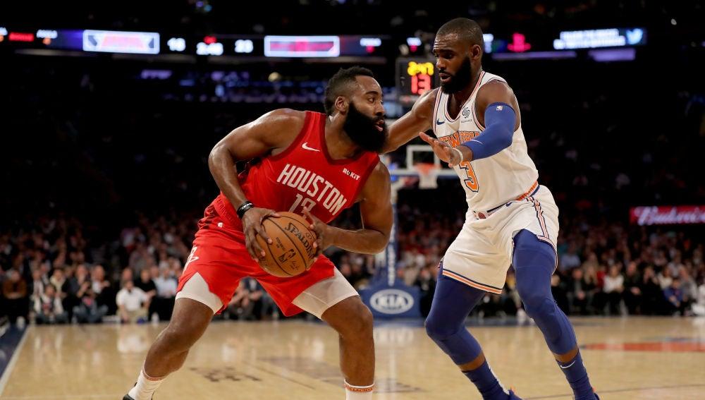 James Harden, ante los Knicks