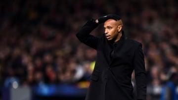 Thierry Henry, en un partido del Mónaco