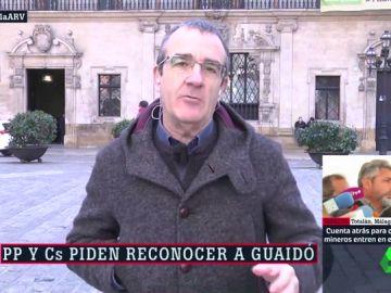 Juan Pedro Yllanes, candidato de Podemos al Gobierno de Baleares