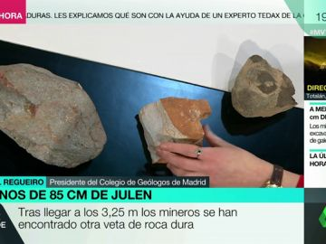 Rescate de Julen: estos son los tipos de rocas que están dificultando el trabajo de rescate en el pozo de Totalán