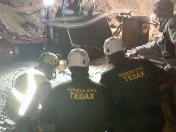 El vídeo de la cuarta microvoladura de los TEDAX en el túnel por el que los mineros tratan de llegar hasta Julen