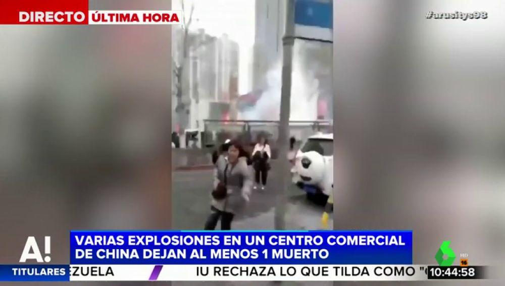 EXPLOSIONES CHINA