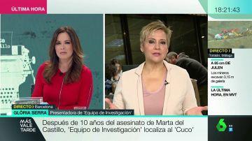 """Gloria serra: """"La entrevista con el hermano de Miguel Carcaño es muy dura"""""""