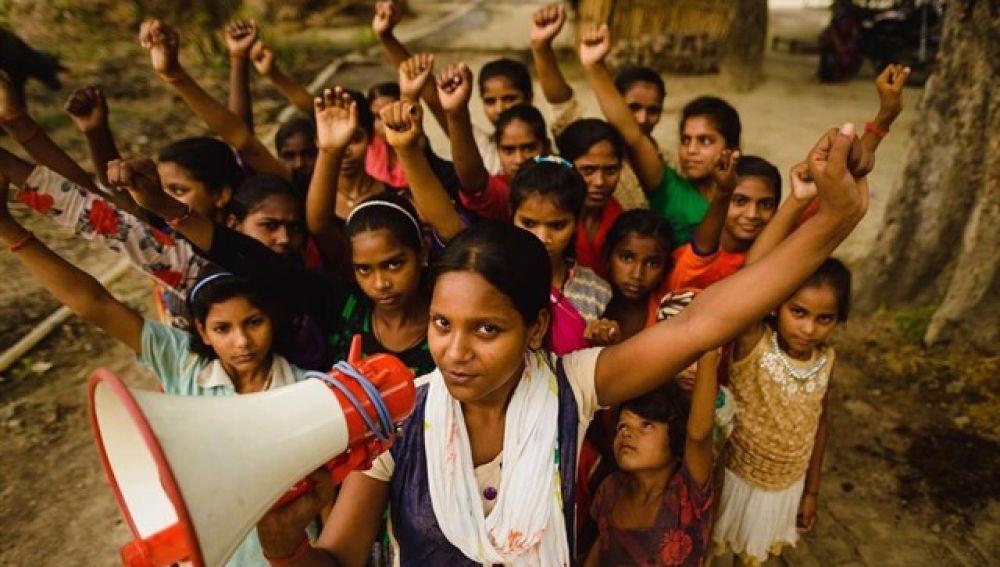 Las chicas plantan cara al matrimonio infantil en Asia