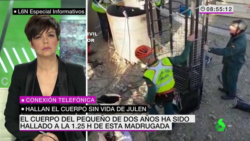 """Manu Marlasca: """"Los dos forenses que dirigieron el levantamiento de cadáver de Julen creen que murió en el mismo momento de la caída"""""""