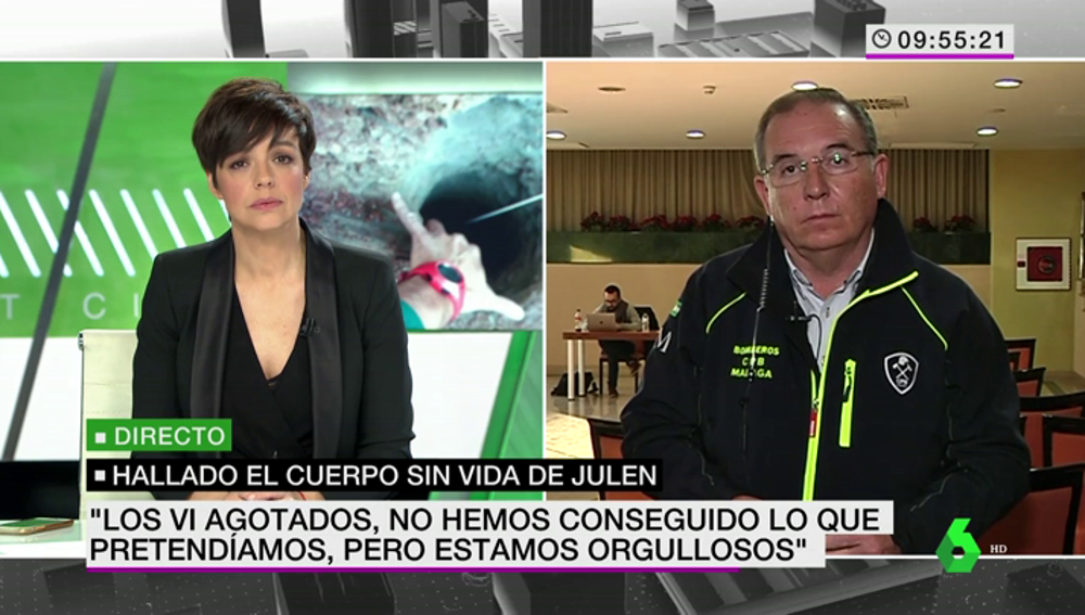 """Francisco Delgado analiza los trabajos de rescate del cuerpo de Julen: """"Ha sido una lucha titánica contra la montaña"""""""