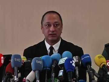 Alfonso Rodríguez Gómez de Celis durante la rueda de prensa sobre el hallazgo del cuerpo de Julen
