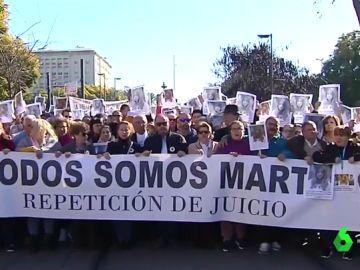 Manifestación en Sevilla para que se repita el juicio de Marta del Castillo