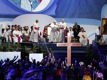 El papa Franciso en la JMJ de Panamá