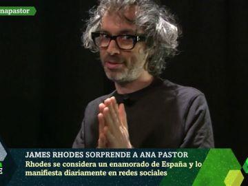 El mensaje de James Rhodes a Pedro Sánchez sobre la educación musical en laSexta Noche