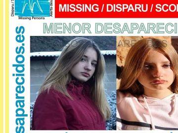 Imagen de la joven desaparecida en Ponferrada