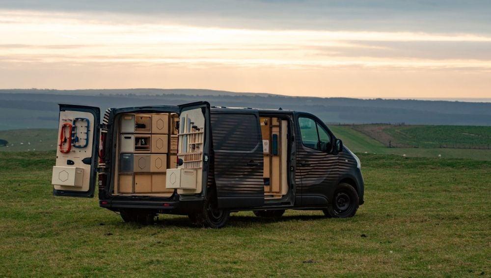 Nissan NV300 es un espacio de bricolaje rodante