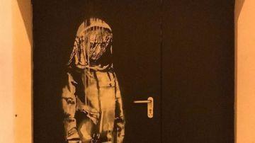 La obra de Banksy, homenaje a las víctimas de Bataclan