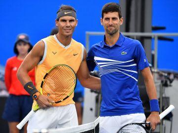 Nadal y Djokovic en Melbourne