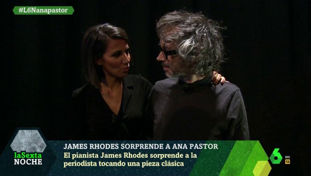 James Rhodes y Ana Pastor