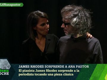 James Rhodes y Ana Pastor