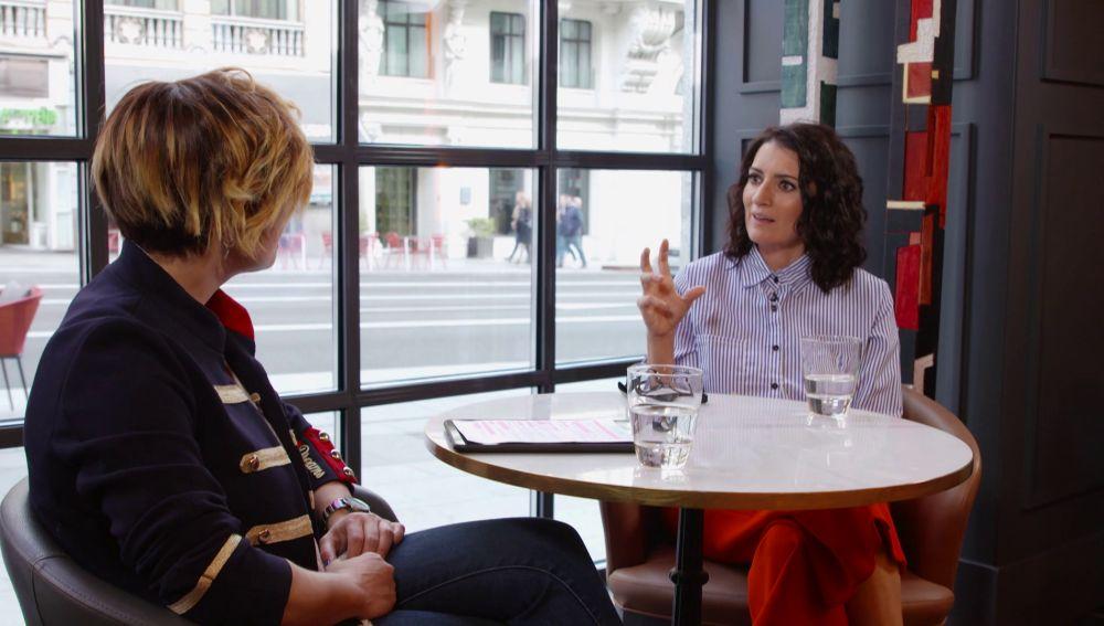 Cristina Pardo y Silvia Abril