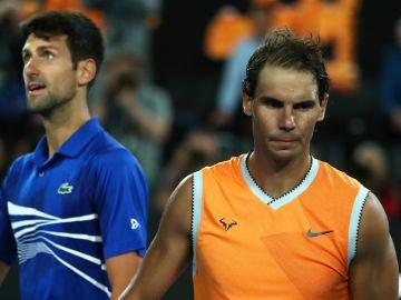 Rafa Nadal, ante Djokovic