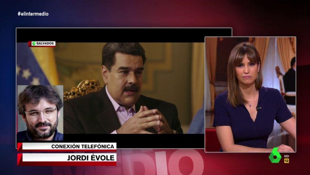 Évole habla con Sandra Sabatés