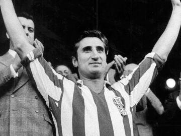 Isacio Calleja, leyenda del Atlético de Madrid