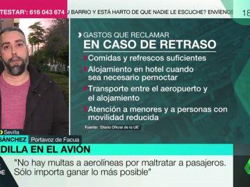 Rubén Sánchez, portavoz de Facua.