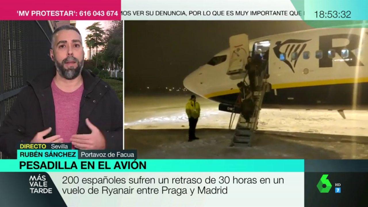 0393f3d96cd Rubén Sánchez, sobre el trato de Ryanair a sus pasajeros: