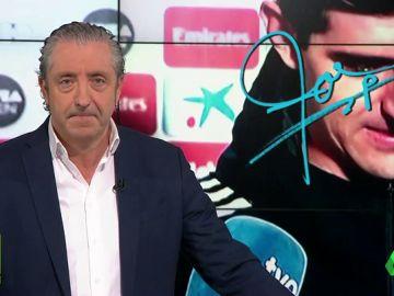 """Josep Pedrerol: """"En el Camp Nou tiene que jugar Vinicius y 10 más. Ah, Courtois, en la portería da igual quién juegue"""""""