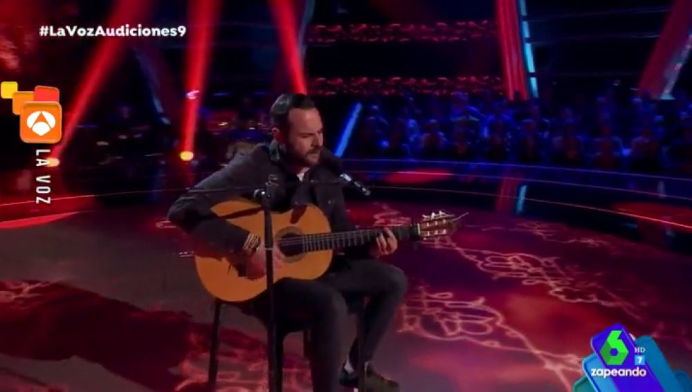 Tare Cortés protagoniza una de las actuaciones de 'La Voz' más emotivas