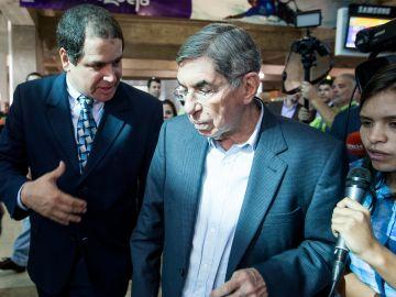 El expresidente de Costa Rica y Premio Nobel de Paz en 1987, Oscar Arias