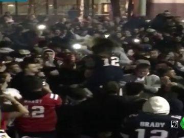 Múltiples peleas en Estados Unidos tras la Super Bowl entre Patriots y Rams