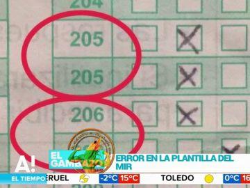 El error en el examen del MIR que tiene en vilo a 35.000 opositores