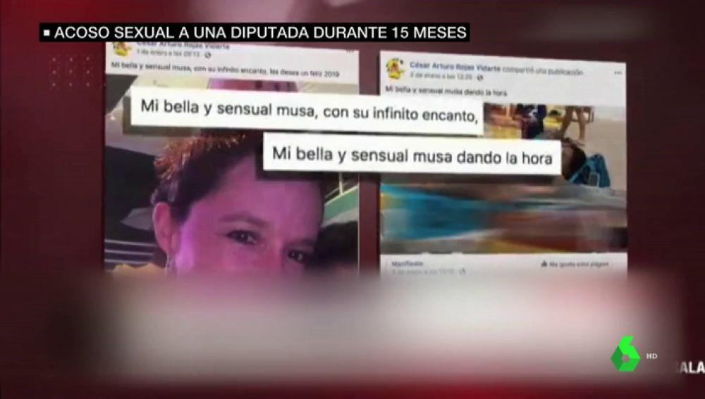 Acoso sexual de un periodista a la diputada Marisa Glave en Perú