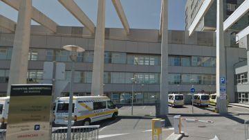 Hospital Universitario de Burgos, donde está hospitalizada la bebé de 17 meses intoxicada con coaína