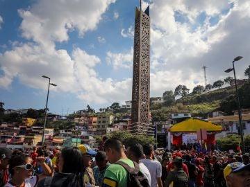 Inmediaciones del Cuartel de la Montaña en Caracas, Venezuela