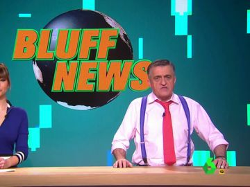 El Gran Wyoming y Sandra Sabatés presentan Bluff News