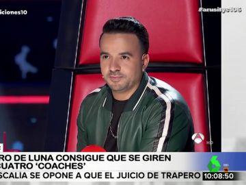 """""""Tenemos muchas cosas en común, los dos somos de Sevilla"""": los sorprendentes argumentos de Fonsi para hacerse con un concursante en 'La Voz'"""