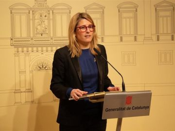 La portavoz y consellera de Presidencia de la Generalitat, Elsa Artadi