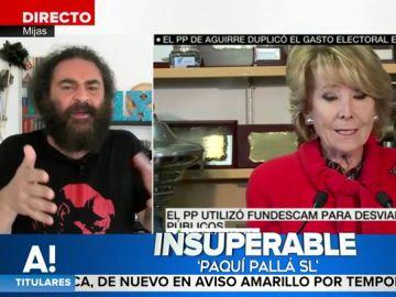 """El enfado de El Sevilla al conocer 'Paquí Pallá SL', la empresa tapadera del PP: """"Hay que tener la cara muy dura para hacer esto"""""""