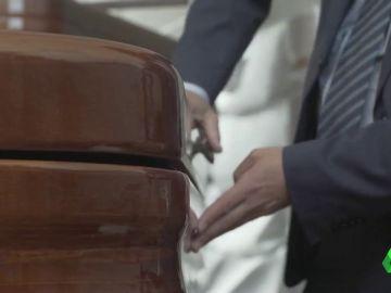 La funeraria de Valladolid sólo utilizaba la tapa de los ataúdes para incinerar a los fallecidos